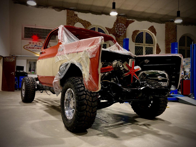 Restauration - Classic Car Collection Babenhausen